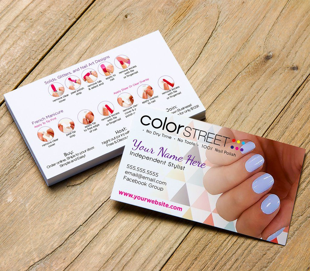 Color Street Business Card Template Windy City Digital Business Card Digital Business Card Business Card Template Cards