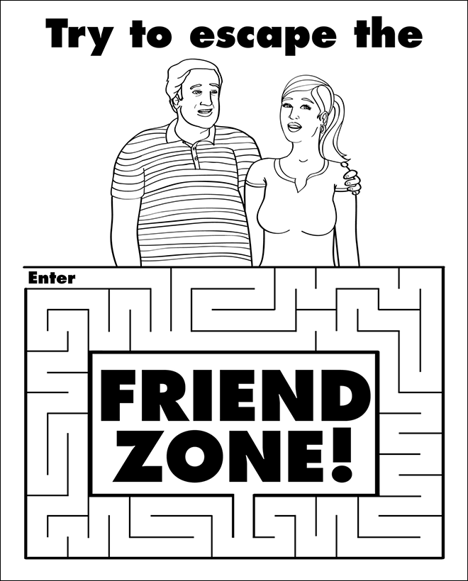 Enjoy This Activity Book For Adults 16 Fun Activities Funny Coloring Book Friendzone Coloring Books
