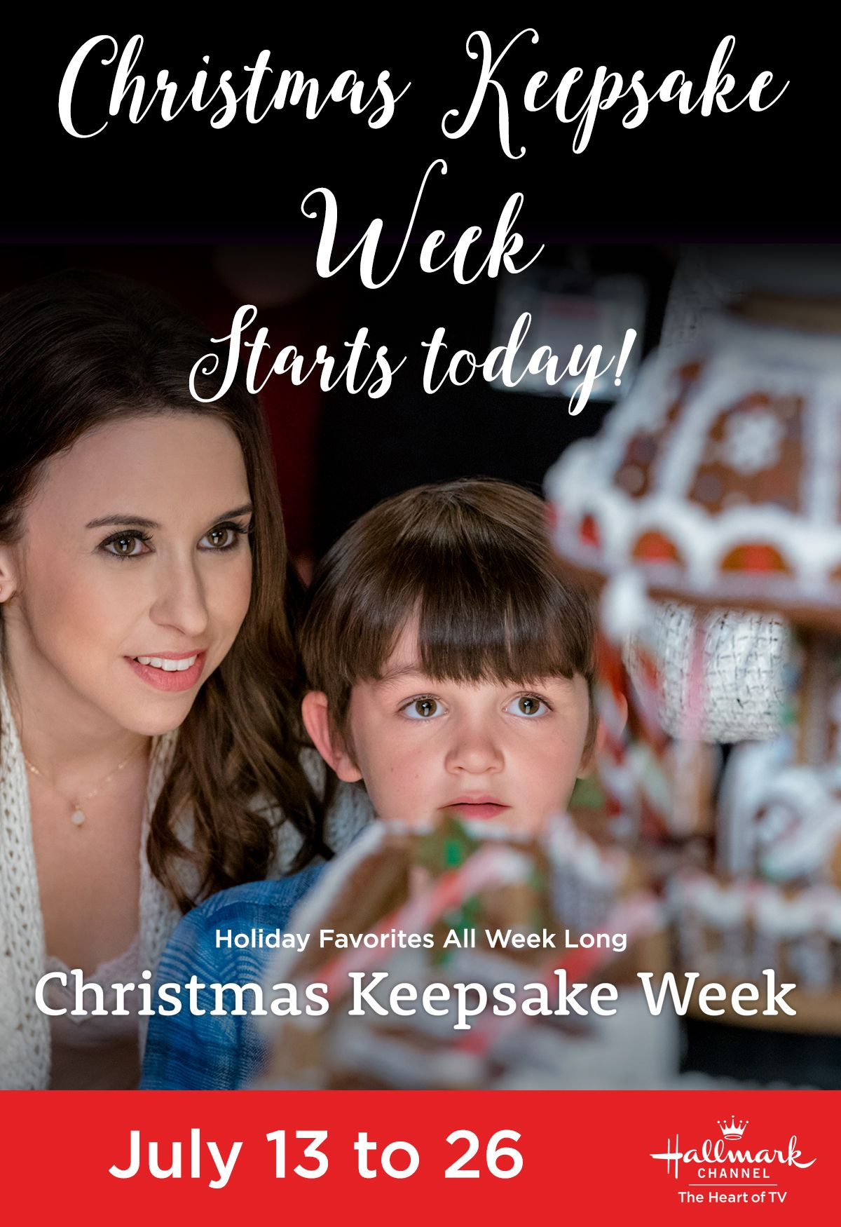 Today's the day! Christmas Keepsake Week kicks off with