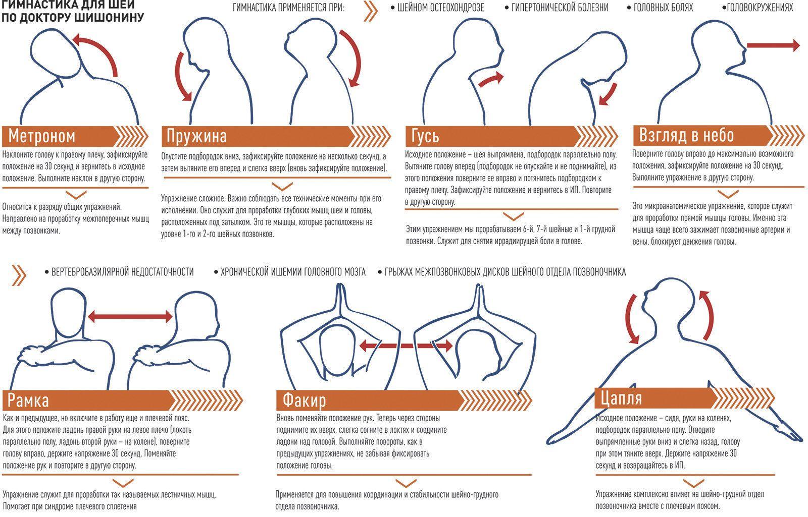 А. Шишонин - гимнастика для шеи при гипертонии, видео ...