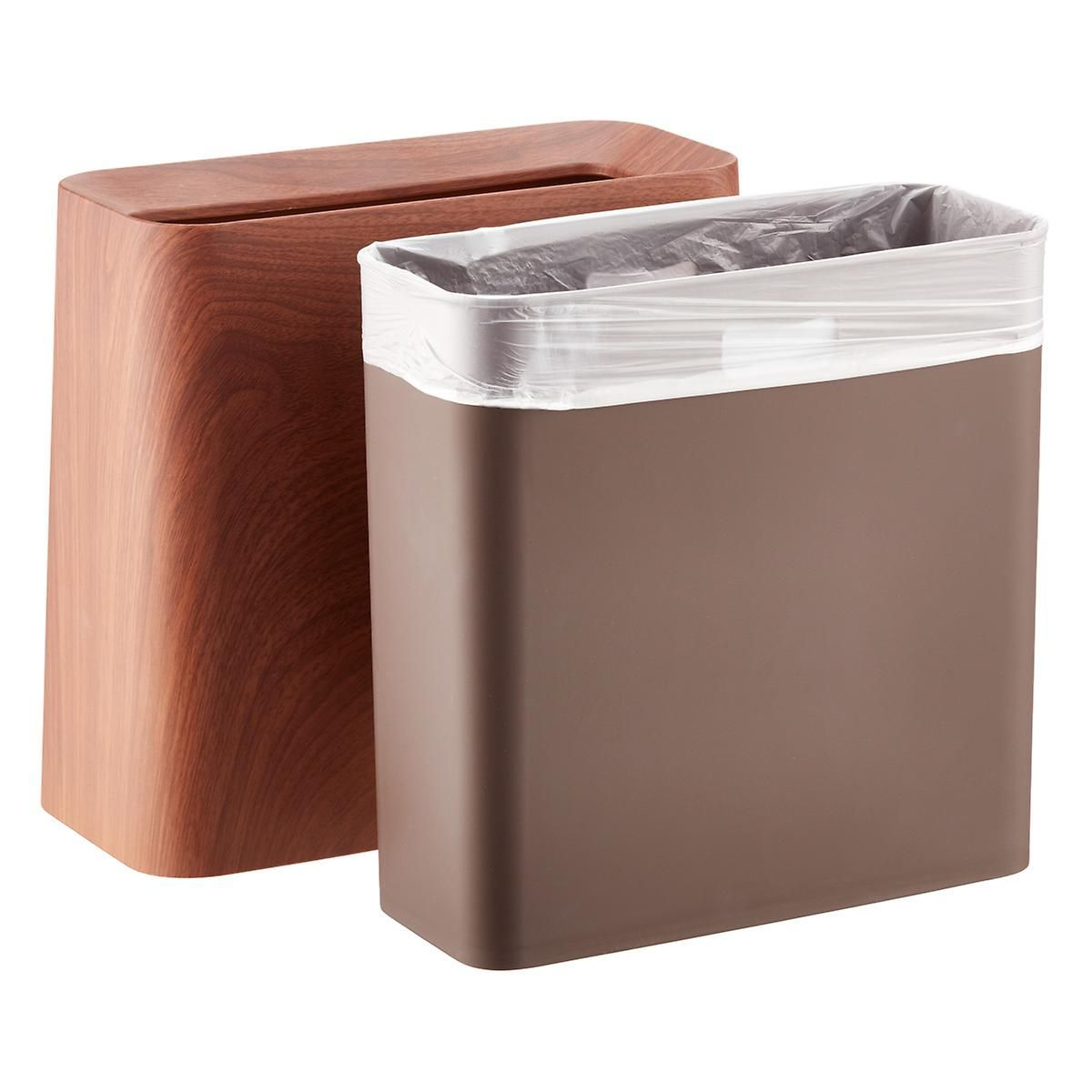 Created By Japanese Designers This Sleek Trash Can Keeps Its