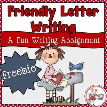 free valentine letter writing activity