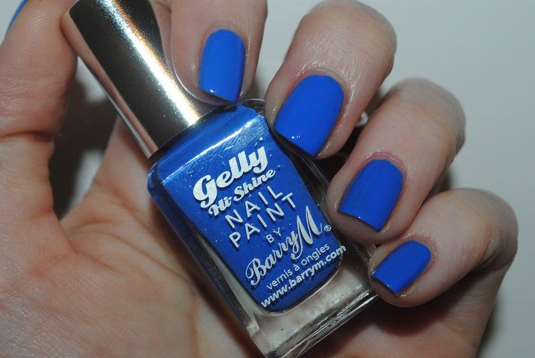 Barry M Gelly Nails Summer 2014 Review, Swatches - Really Ree