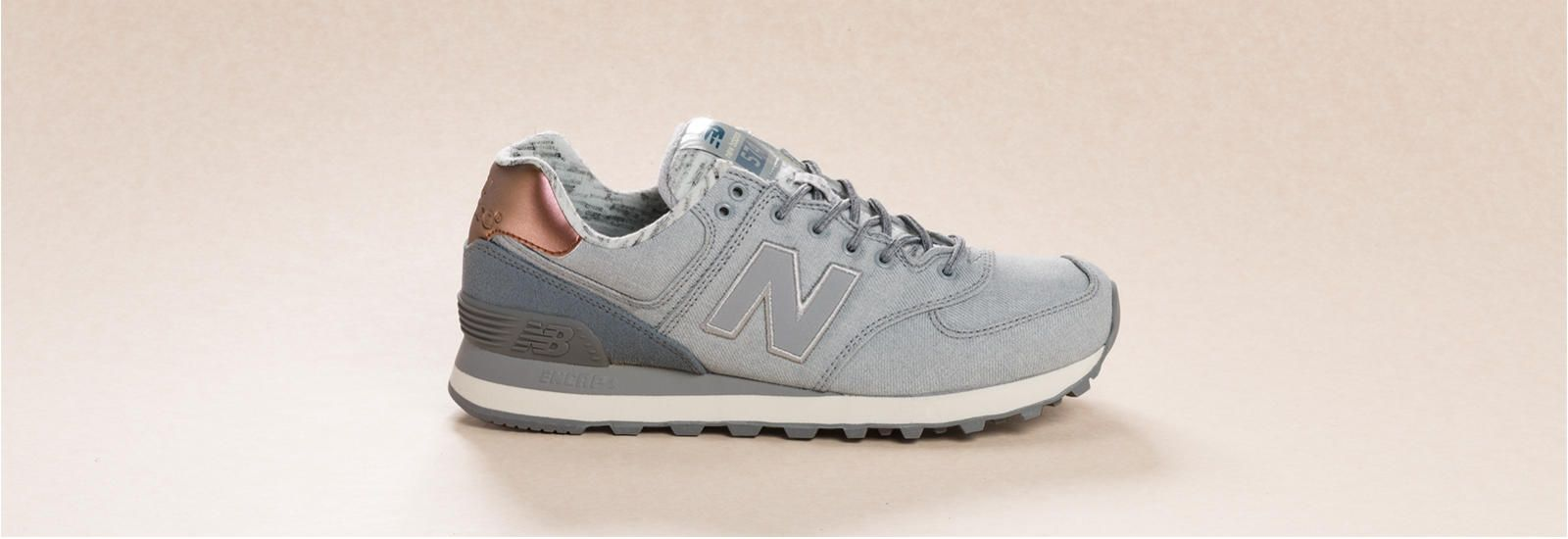 new balance rose gold and silver