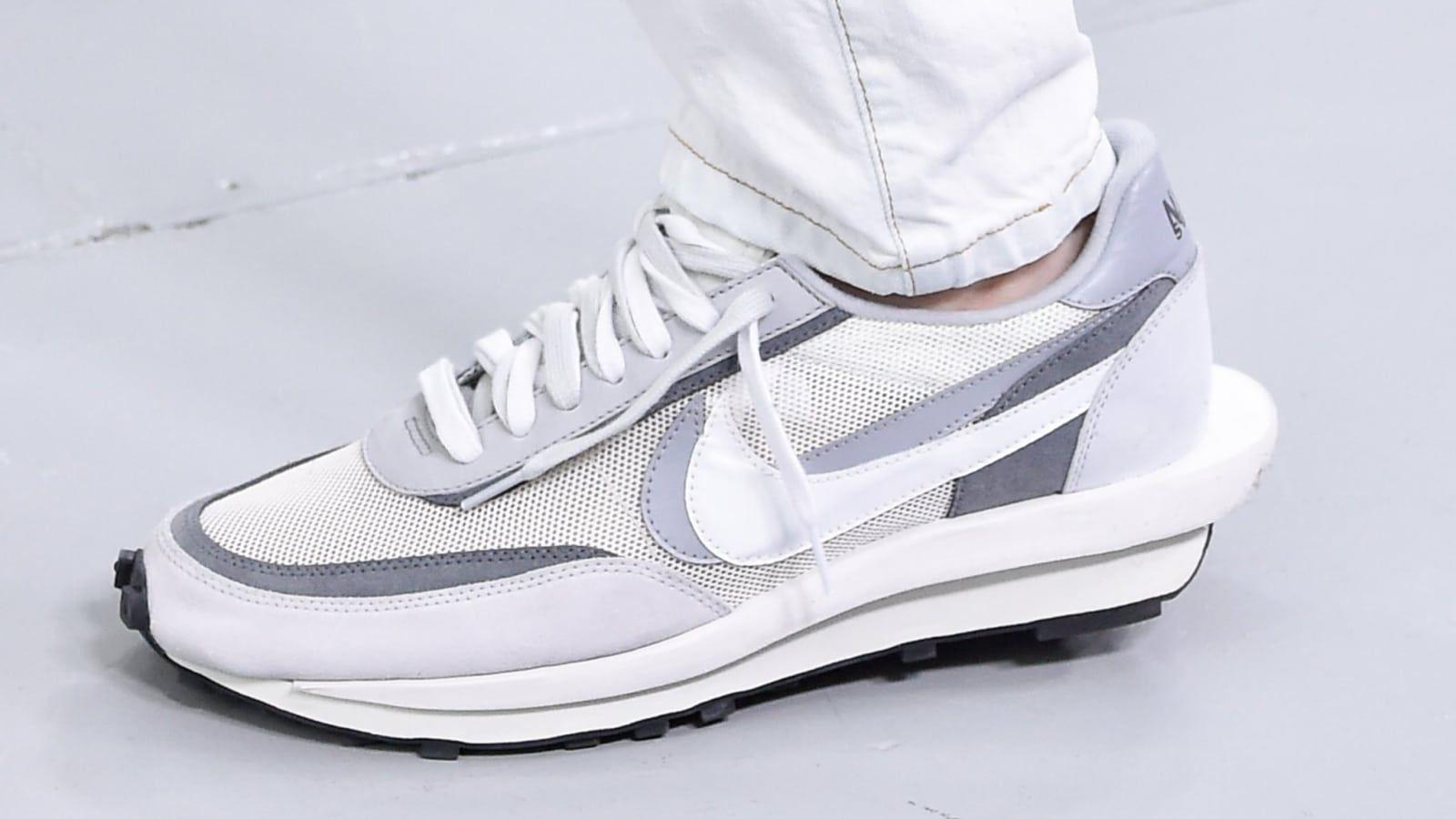 Primavera Estate 2018 Nike White Nike Waffle Racer 17 All