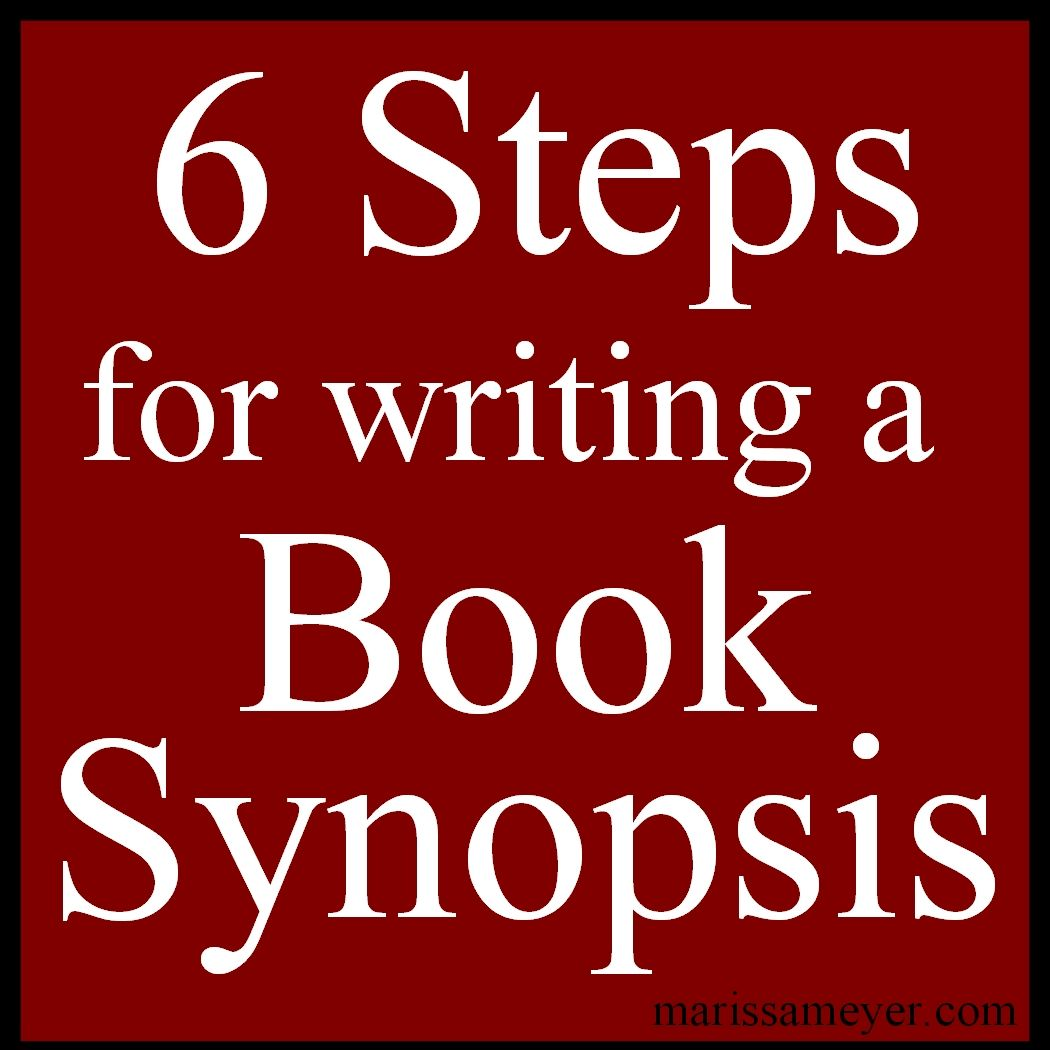 how to write a synopsis for a novel