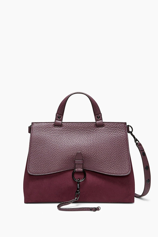 fc0288ba96a Rebecca Minkoff Keith Cherry Genuine Leather Exclusive Lining Medium  Satchel  Doris Daily Deals  Bonanza http · Rebecca MinkoffDesigner HandbagsHand  ...