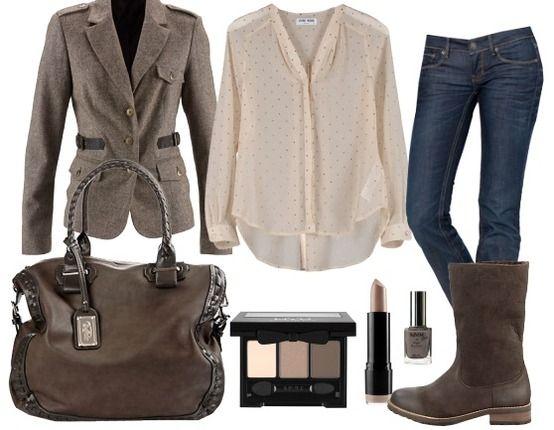 ballade d 39 automne tenue de travail mode pinterest clothes belle and. Black Bedroom Furniture Sets. Home Design Ideas