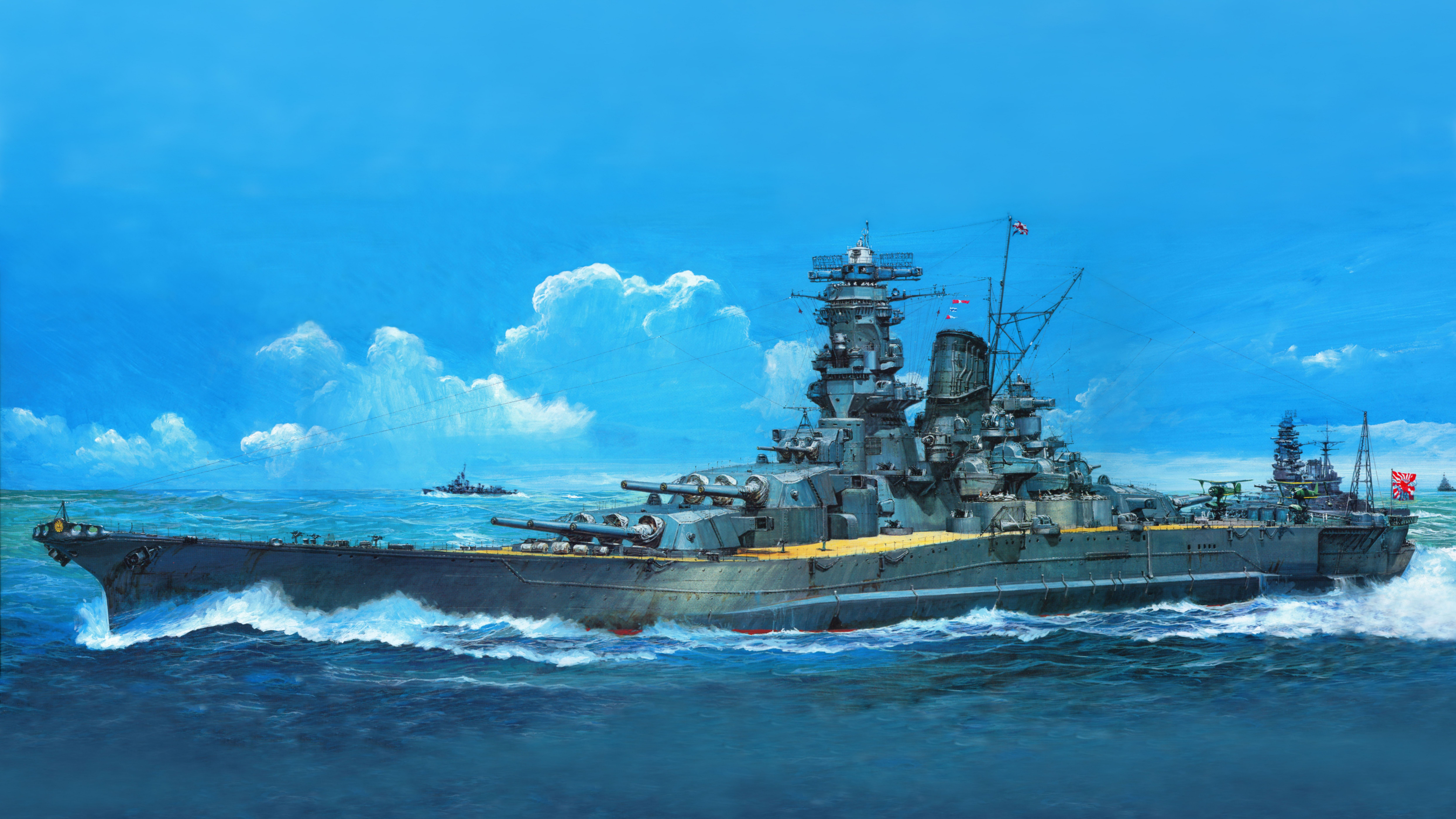 Battleship Wallpaper Phone Hqg Battleship Yamato Class