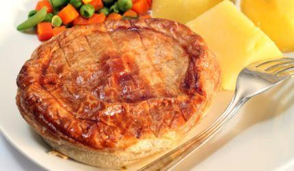 Lístkový koláč so zemiakovou plnkou