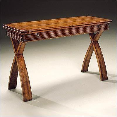 Magnussen Furniture Bali Flip Top Console Table
