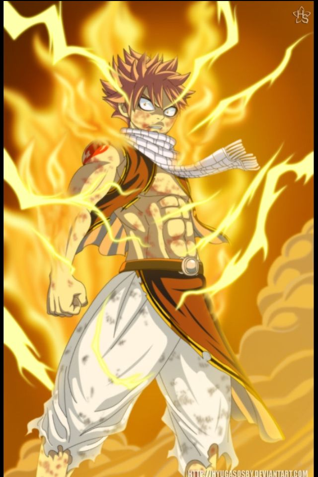 Natsu Electric Fire Dragneel Fairy Tail Anime Fairy Tail Dragon