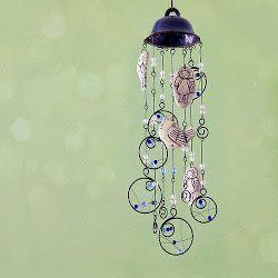 Zvonkohry - miluji jejich klapání a cinkání ve větru, je to velmi uklidňující :)