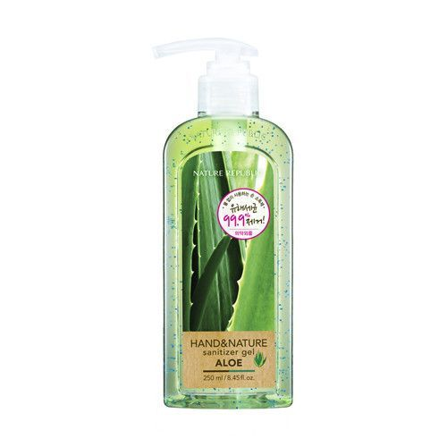 Nature Republic Hand Nature Sanitizer Gel Aloe 250ml Big Size