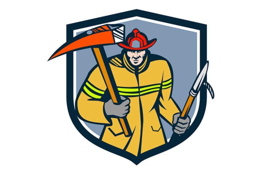 Bay Area Fire Rescue Logo in 2020 Fire axe, Firefighter