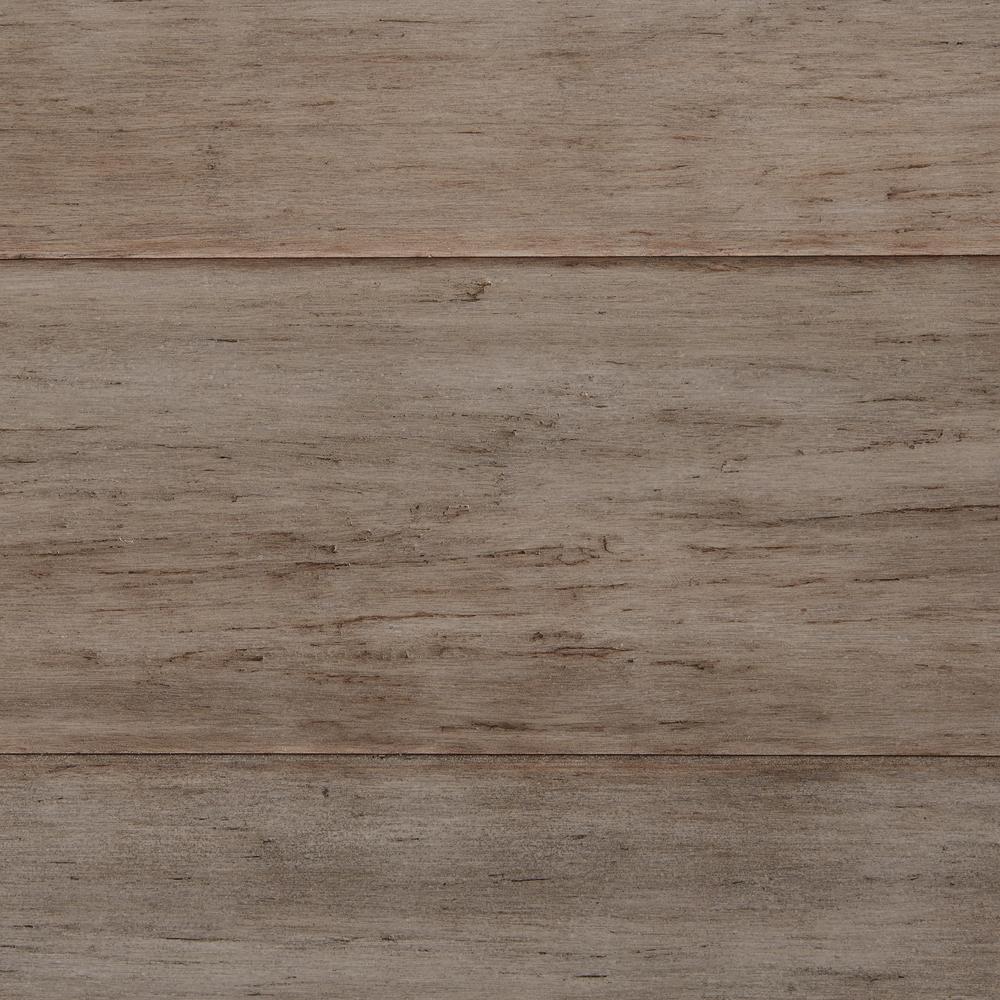 hand scraped strand woven earl grey 3/8 in. t x 5-1/8 in. w x 36