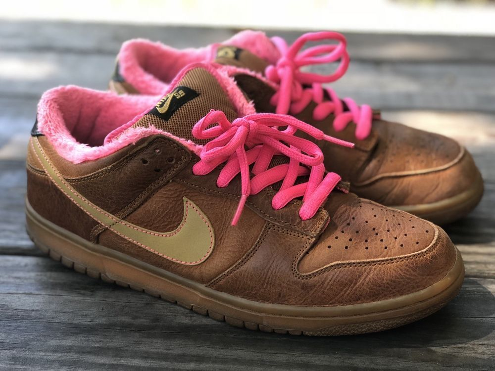 detailed look 3f34d 3d85a Nike Dunk SB Low Gibson sz 11 guitar case tan  TRUSTED SELLER fashion