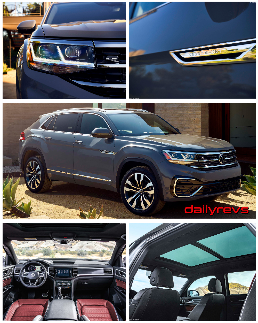 2020 Volkswagen Atlas Cross Sport HD Pictures, Videos