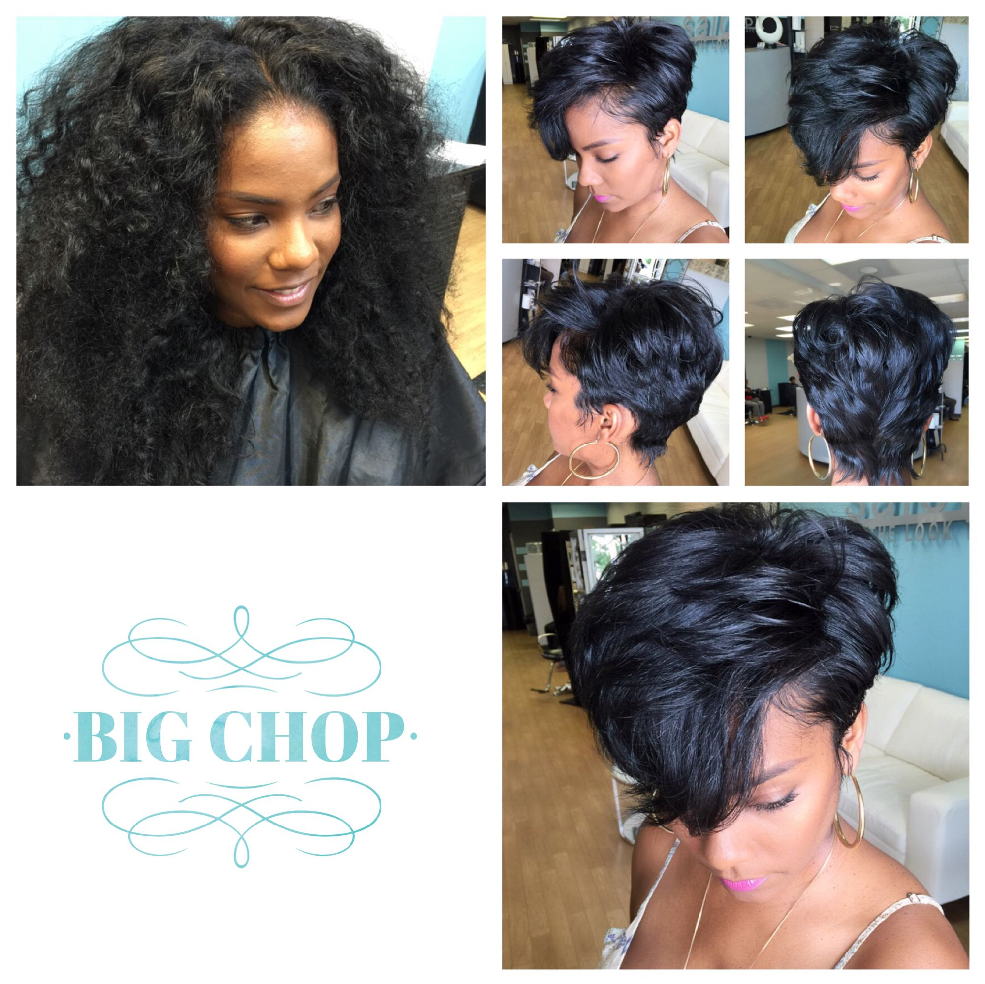 Short Hairstyles Short Haircuts Shorthaircuts For Black Women Hairstyles By Celebrity Stylist Pekela Riley Short Hair Styles Hair Styles Natural Hair Salons