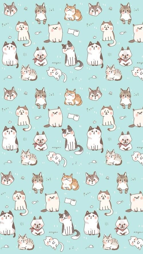 画像 可愛い猫のスマホiphone壁紙 イラスト 写真 画像 待ち受け画面 Naver まとめ Iphone Wallpaper Cat Cat Wallpaper Kitten Wallpaper