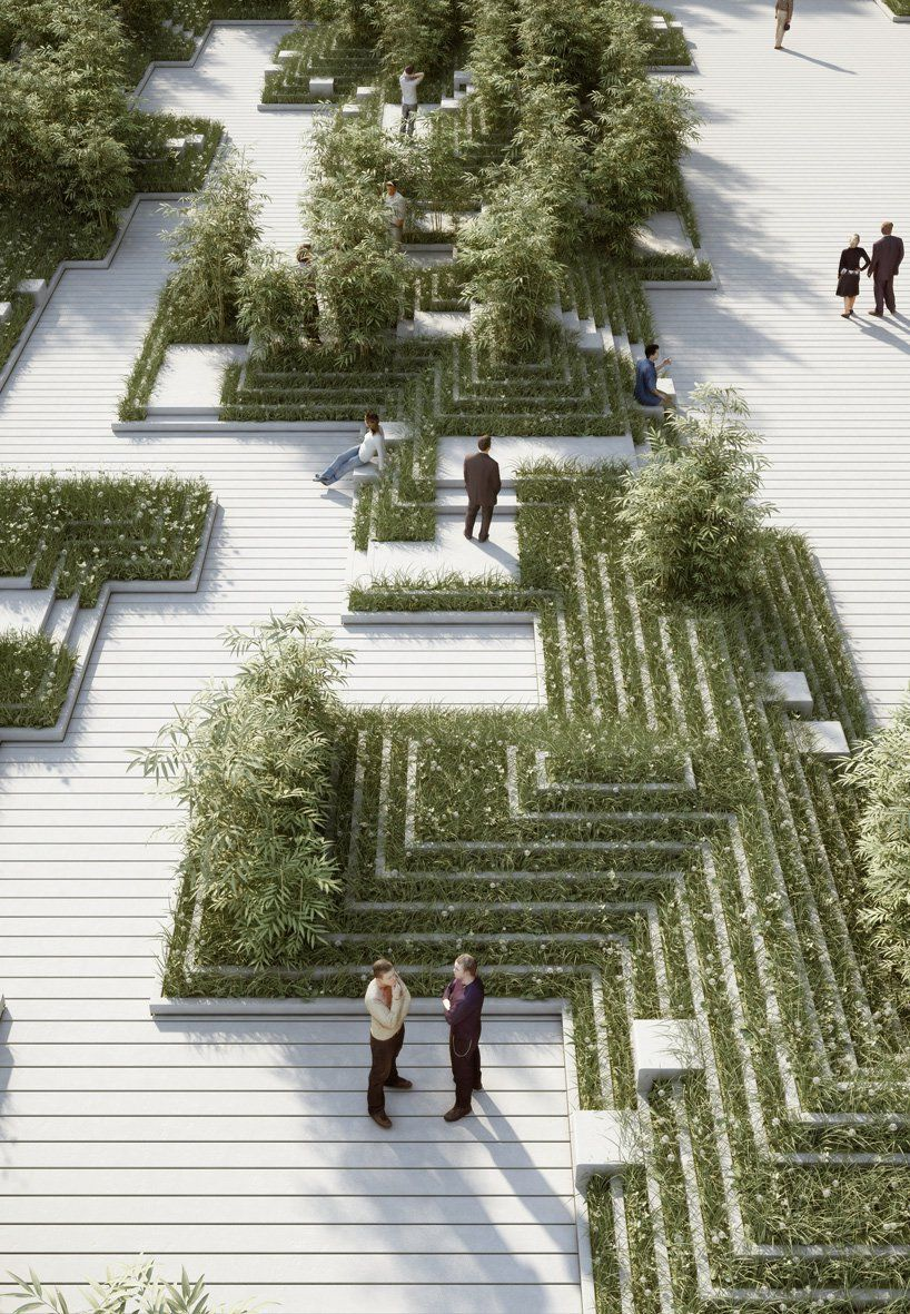 penda: magic breeze landscape design in india