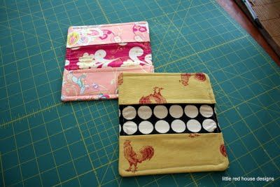 Little Red House Designs: Checkbook Covers
