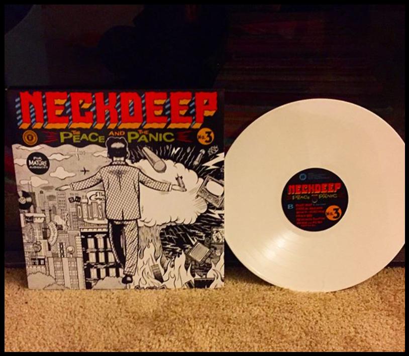 Neck Deep The Peace The Panic Lp White Ltd Pressing Music Blog Vinyl Music