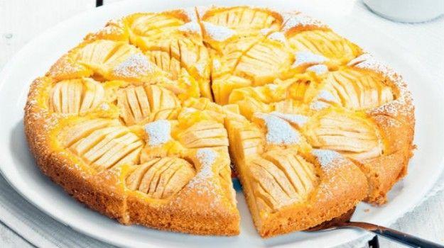 Пирог на муке и яйцах