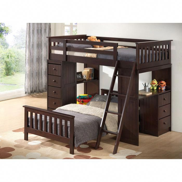 Broyhill Kids Marco Island Twin L Shaped Bunk Bed With Storage