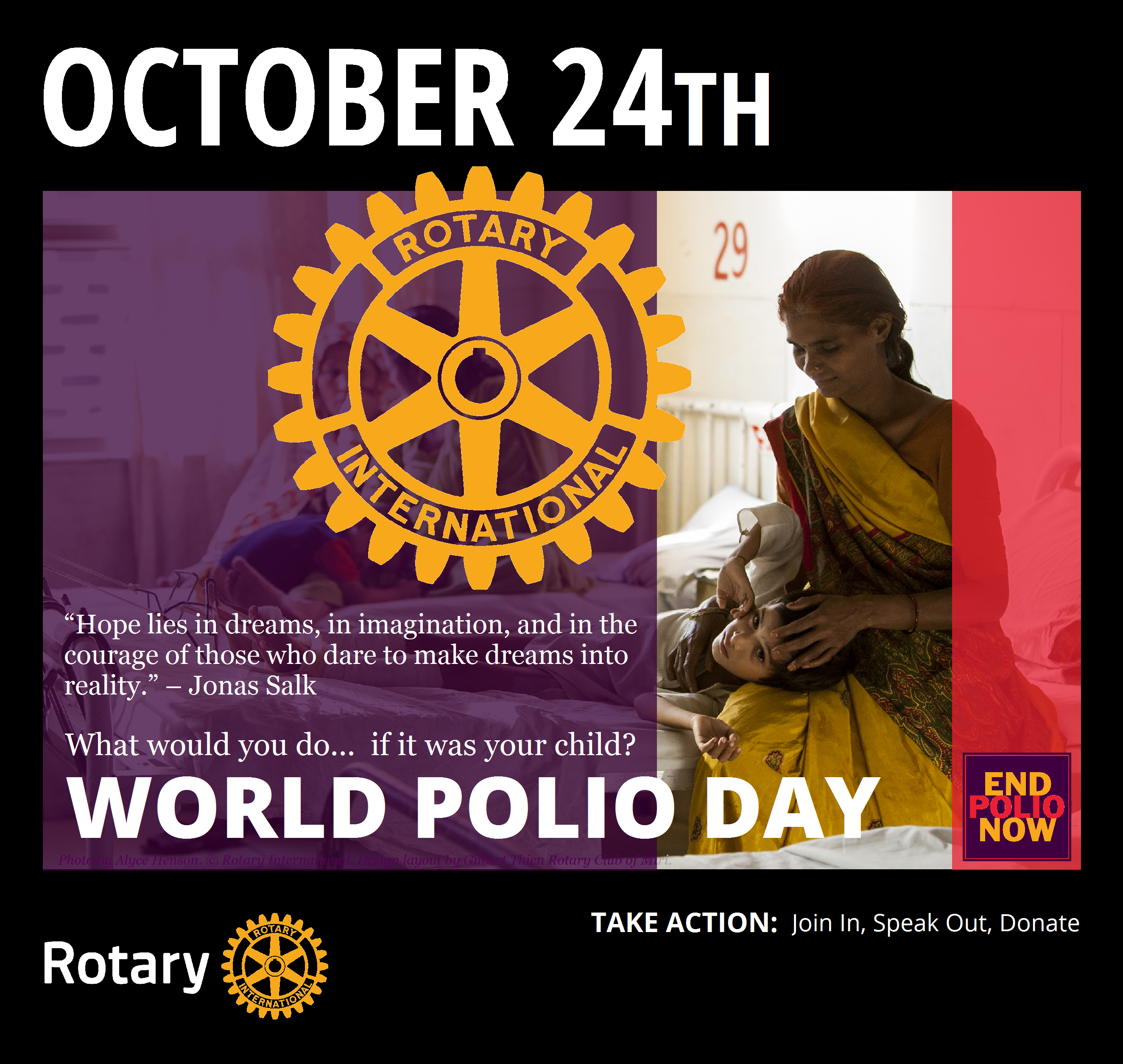Pin on Rotary Mini Poster Special Rotary Observances