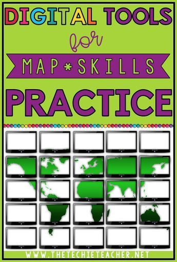Digital Tools for Map Skills Practice