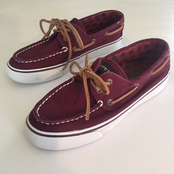 1484bc2c161 Sperry maroon boat shoes Maroon boat shoes from Sperry very comfortable and  classic. Worn a