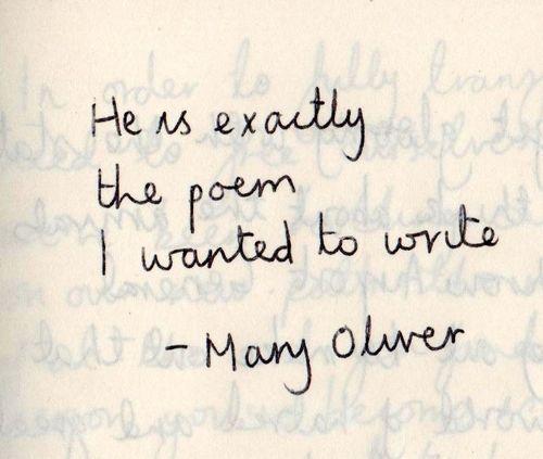 Superbe Mary Oliver