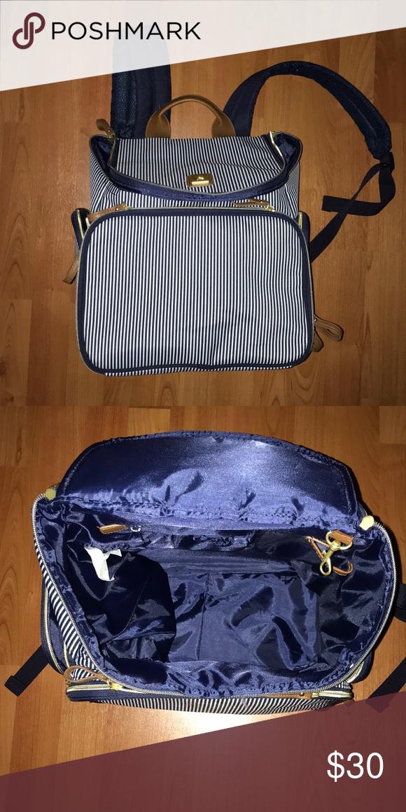 Banana Fish Blue And White Striped Pump Bag Bags Pumps Fashion