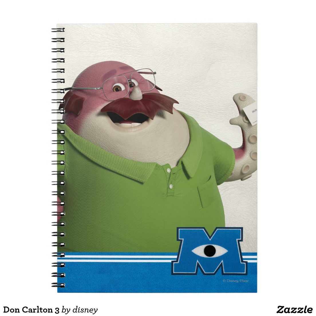 Monsters University - Don Carlton 3 Notebook. Regalos, Gifts ...