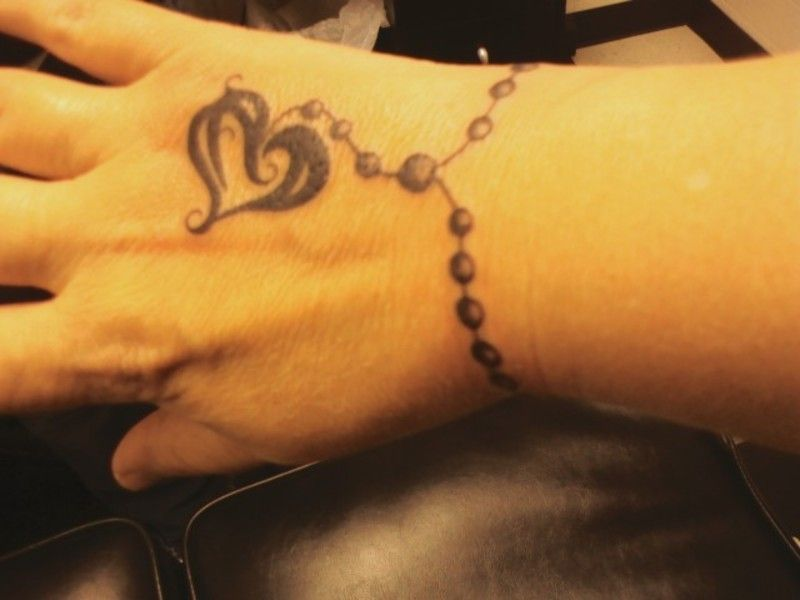 Thinking To Go Round The Kids Names On My Wrist But With Little Hands Or Feet Instead Of Balls Cool Wrist Tattoos Tattoo Designs Wrist Wrist Tattoos For Women