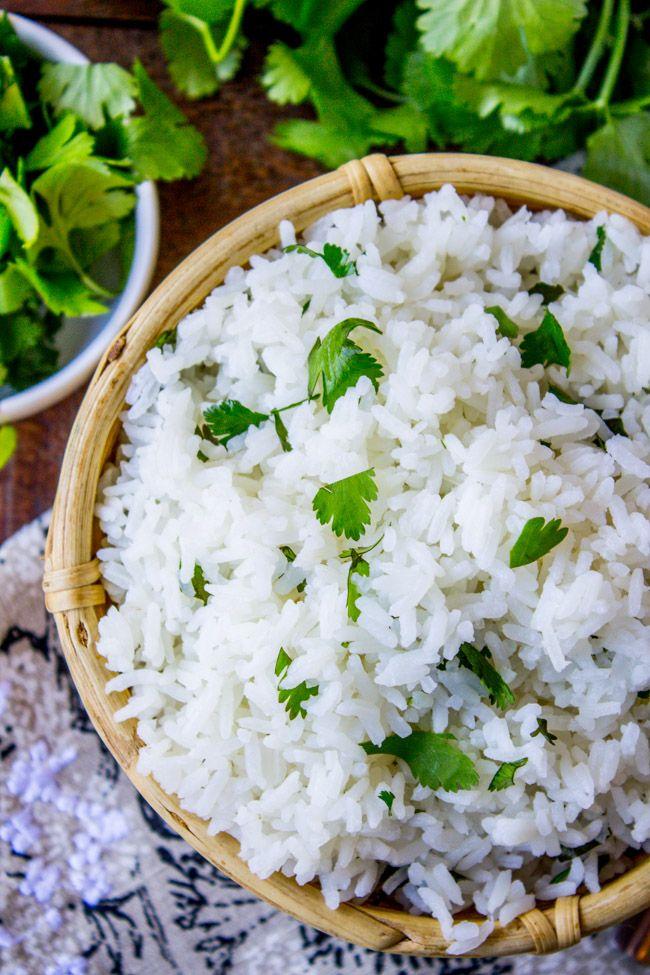 Coconut Jasmine Rice with Cilantro | Recipe | Coconut ...