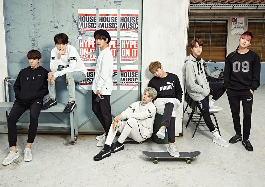[OFFICIEL] PUMA X BTS – Collection Printemps 2017