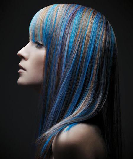 Discover New Hairstyles For Your Hair - Creative hairstyle color
