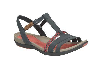 Navy nubuck 'Tealite Grace' sandals shop sale online popular sale online browse cheap online clearance for nice SVOPg3Os