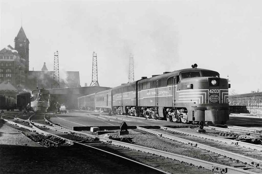 Pin by Thomas Nagel on New York Central in 2020 New york