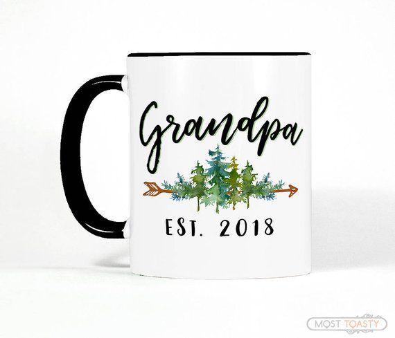 Personalized New Grandpa Gift Grandpa Christmas Gift Grandpa Mug