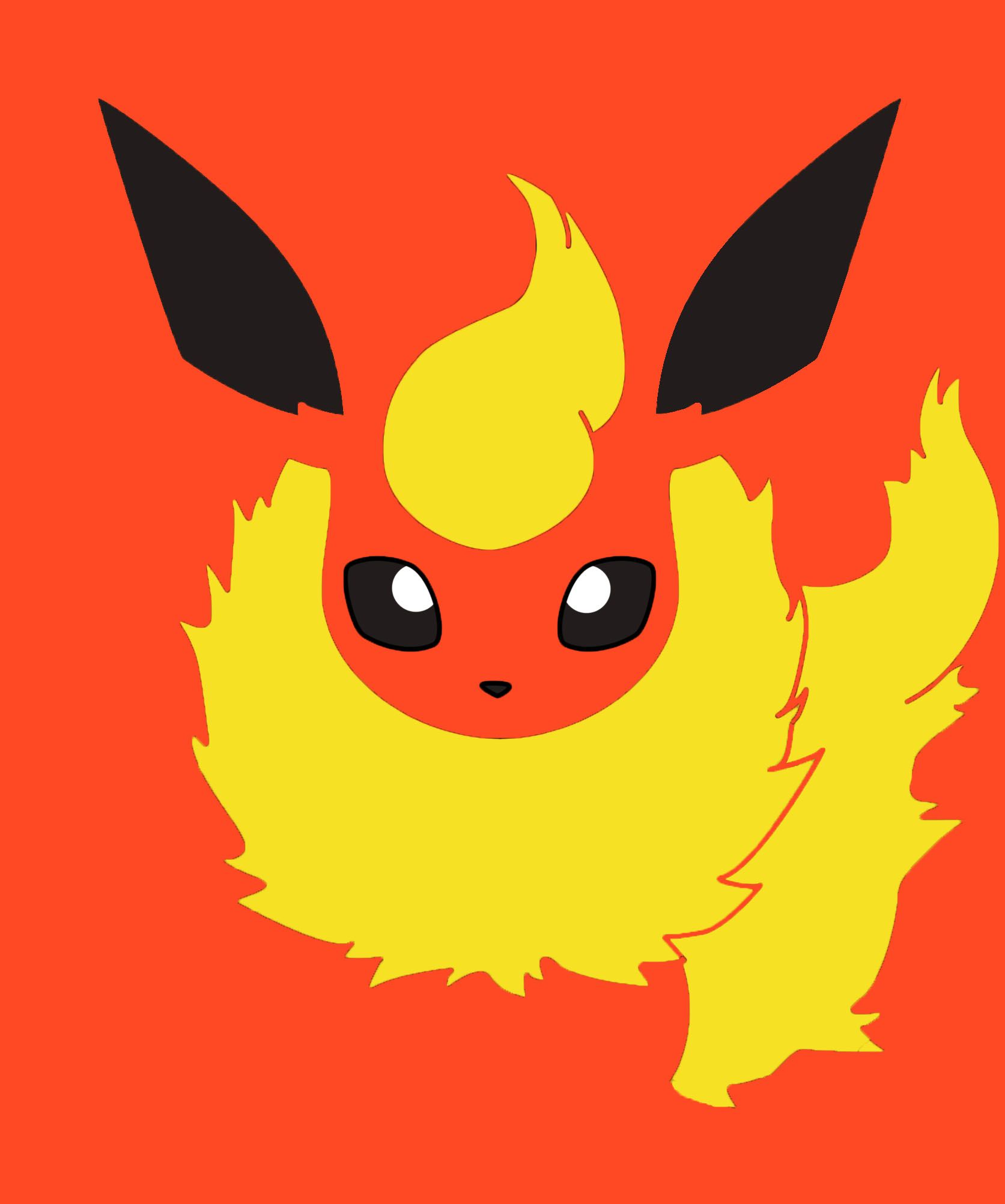 Eevee Single Color Collection - Flareon