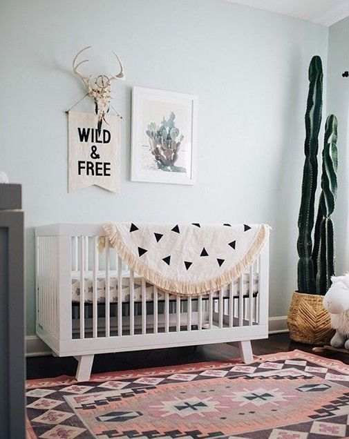 Pretty Natural Nursery Baby Room Decor