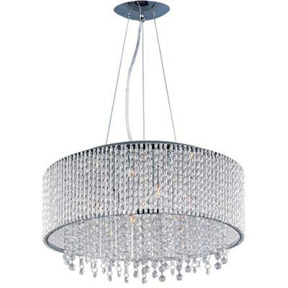 CLI Spiral 10-Light Pendant-E23137-10PC - The Home Depot