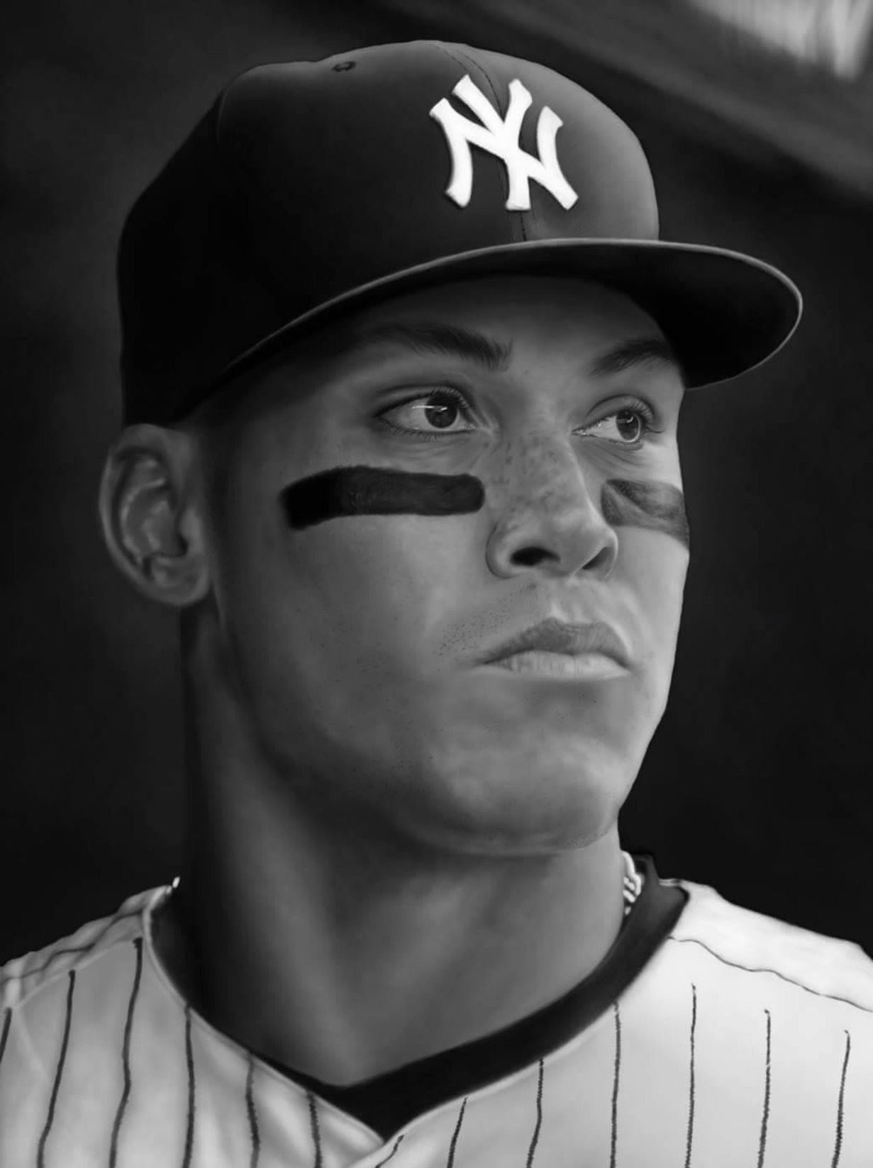 Aaron Judge NY Yankees Rookie season 2017 ...