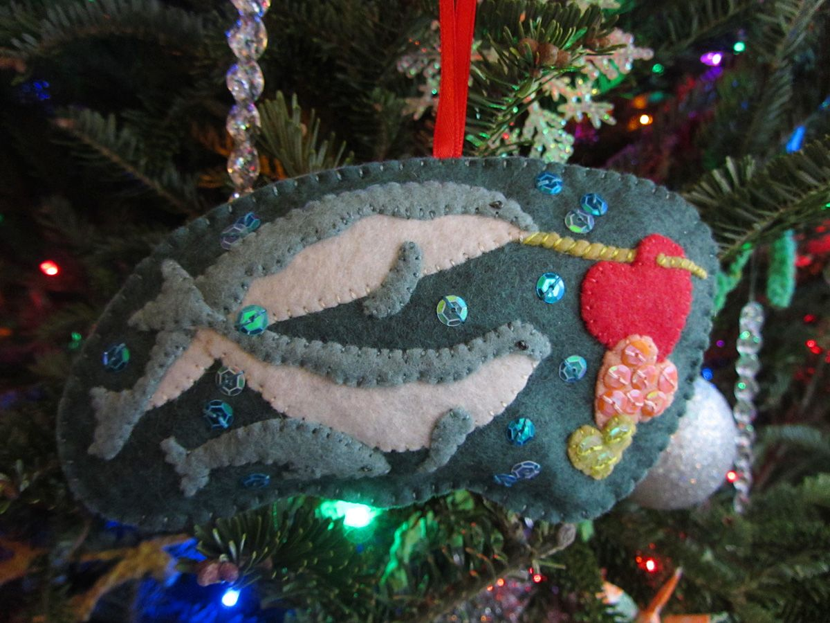 Polar Family Felt Ornament Patterns – Narwhals & Penguins