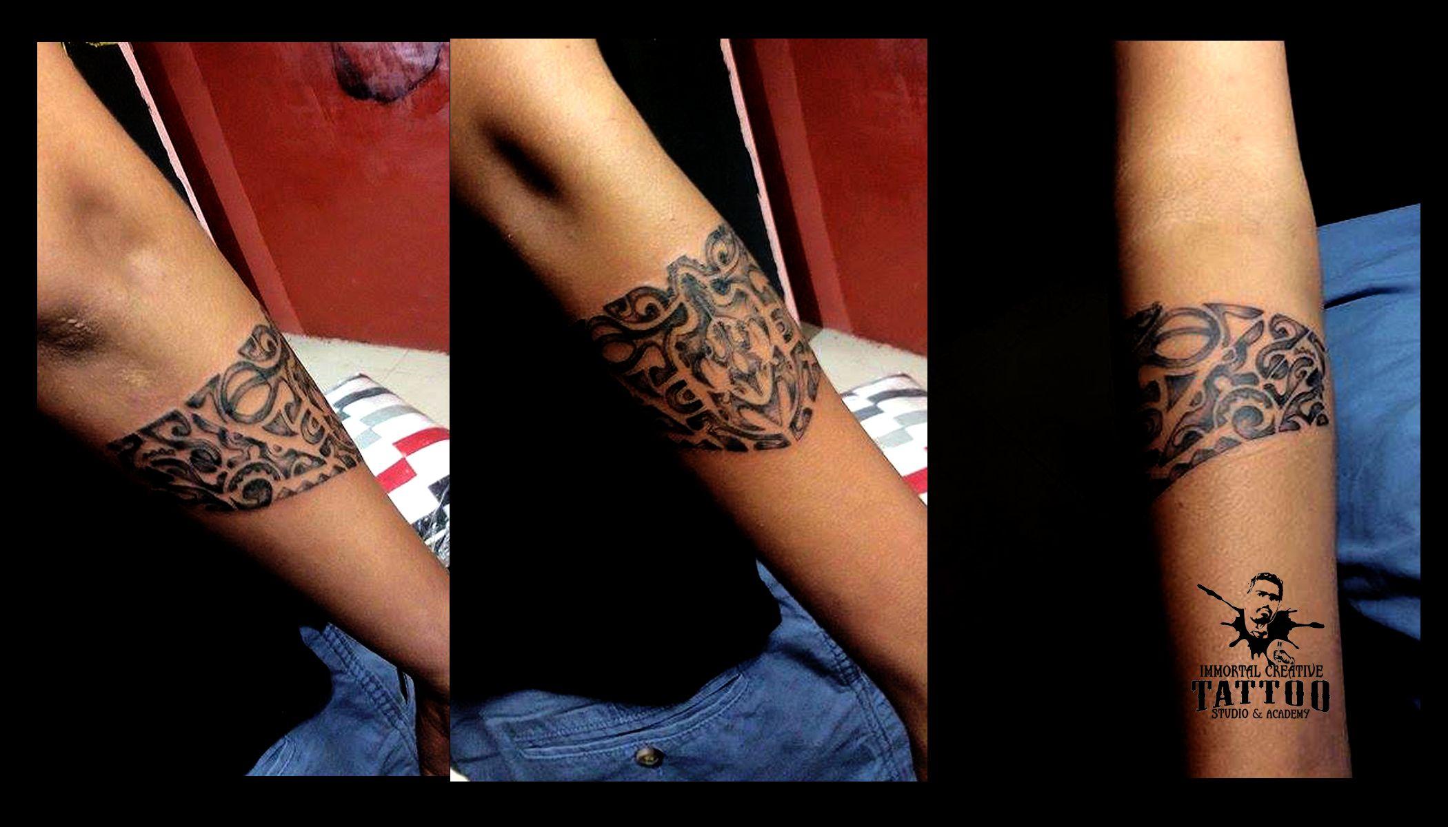 Maori Band Tattoo At Immortal Creative Tattoo Studio Indore Dinakaran Ur Views Comments And Shares Would Band Tattoo Design Your Tattoo Creative Tattoos