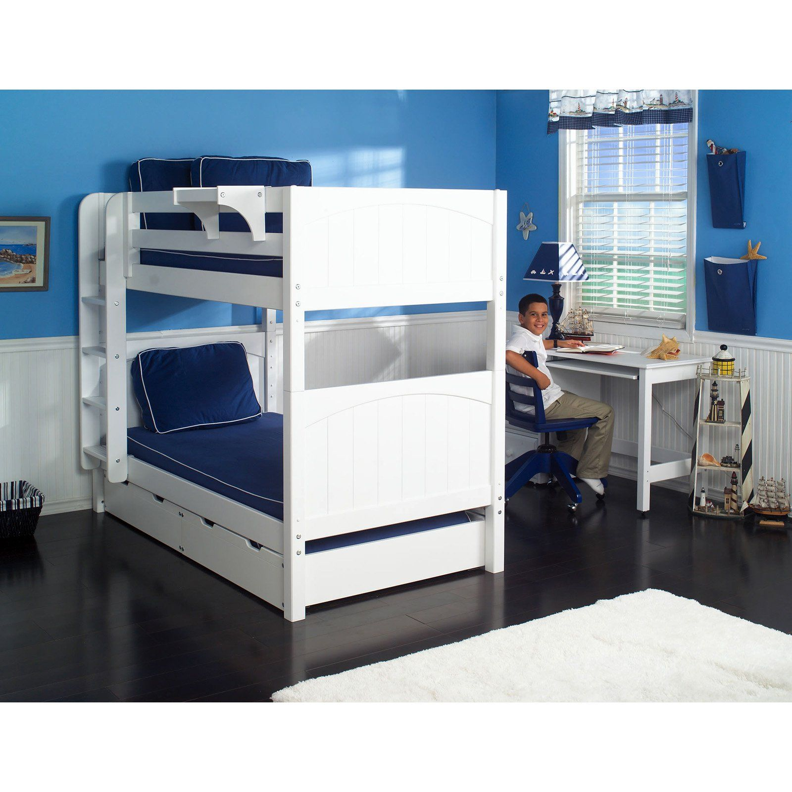 have to have it get it twin over twin bunk bed   hayneedle  - get it twin over twin bunk bed   hayneedle