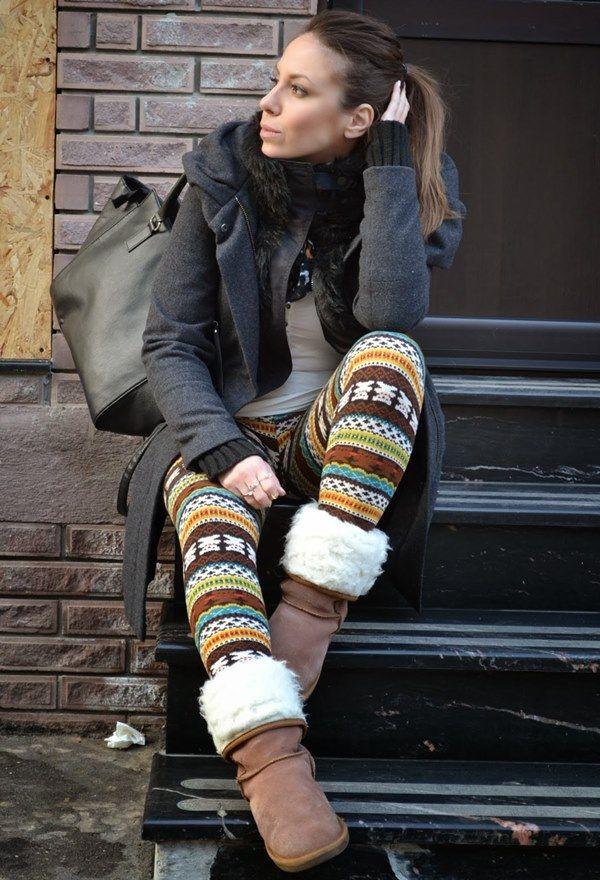 Winter Leggings Fashion Style